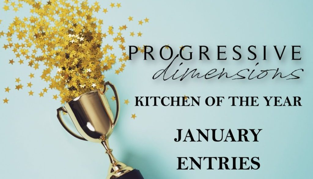 KITCHEN OF THE YEAR JANUARY